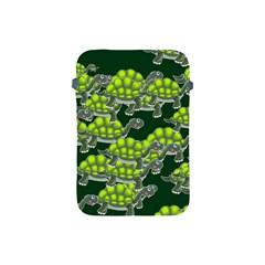 Seamless Tile Background Abstract Turtle Turtles Apple Ipad Mini Protective Soft Cases