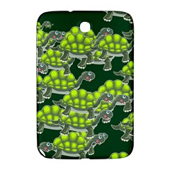 Seamless Tile Background Abstract Turtle Turtles Samsung Galaxy Note 8 0 N5100 Hardshell Case
