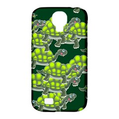 Seamless Tile Background Abstract Turtle Turtles Samsung Galaxy S4 Classic Hardshell Case (pc+silicone)