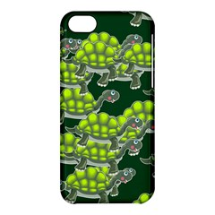 Seamless Tile Background Abstract Turtle Turtles Apple Iphone 5c Hardshell Case