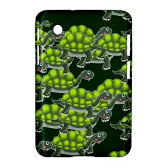 Seamless Tile Background Abstract Turtle Turtles Samsung Galaxy Tab 2 (7 ) P3100 Hardshell Case