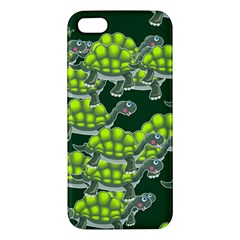 Seamless Tile Background Abstract Turtle Turtles Iphone 5s/ Se Premium Hardshell Case