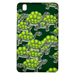 Seamless Tile Background Abstract Turtle Turtles Samsung Galaxy Tab Pro 8 4 Hardshell Case