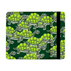 Seamless Tile Background Abstract Turtle Turtles Samsung Galaxy Tab Pro 8 4  Flip Case