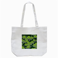 Seamless Tile Background Abstract Turtle Turtles Tote Bag (white)