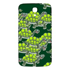 Seamless Tile Background Abstract Turtle Turtles Samsung Galaxy Mega I9200 Hardshell Back Case
