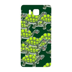 Seamless Tile Background Abstract Turtle Turtles Samsung Galaxy Alpha Hardshell Back Case