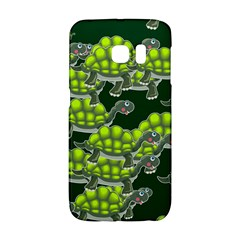 Seamless Tile Background Abstract Turtle Turtles Galaxy S6 Edge