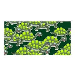 Seamless Tile Background Abstract Turtle Turtles Satin Wrap