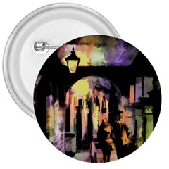 Street Colorful Abstract People 3  Buttons