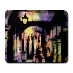 Street Colorful Abstract People Large Mousepads