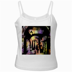 Street Colorful Abstract People Ladies Camisoles