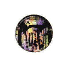 Street Colorful Abstract People Hat Clip Ball Marker
