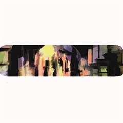 Street Colorful Abstract People Large Bar Mats