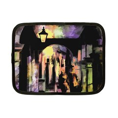 Street Colorful Abstract People Netbook Case (small)