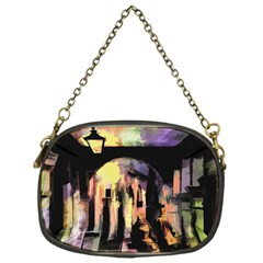 Street Colorful Abstract People Chain Purses (one Side)