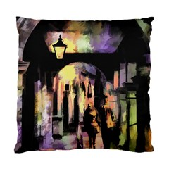 Street Colorful Abstract People Standard Cushion Case (two Sides)