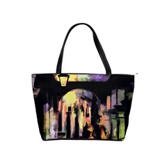 Street Colorful Abstract People Shoulder Handbags