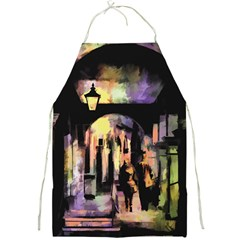 Street Colorful Abstract People Full Print Aprons
