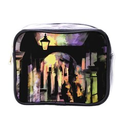 Street Colorful Abstract People Mini Toiletries Bags