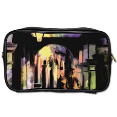 Street Colorful Abstract People Toiletries Bags 2-Side