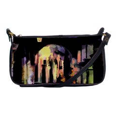 Street Colorful Abstract People Shoulder Clutch Bags