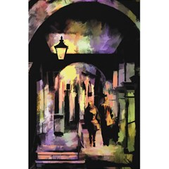 Street Colorful Abstract People 5 5  X 8 5  Notebooks