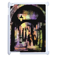 Street Colorful Abstract People Apple Ipad 2 Case (white)