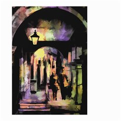 Street Colorful Abstract People Small Garden Flag (Two Sides)