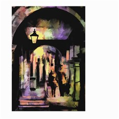 Street Colorful Abstract People Large Garden Flag (two Sides)