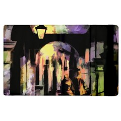 Street Colorful Abstract People Apple Ipad 3/4 Flip Case