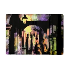 Street Colorful Abstract People Apple Ipad Mini Flip Case