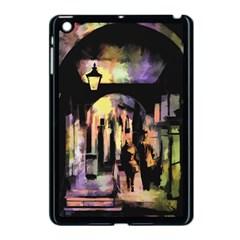 Street Colorful Abstract People Apple Ipad Mini Case (black)