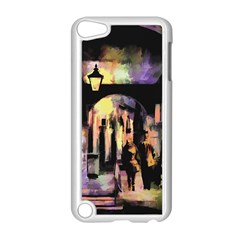 Street Colorful Abstract People Apple Ipod Touch 5 Case (white)