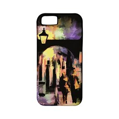 Street Colorful Abstract People Apple Iphone 5 Classic Hardshell Case (pc+silicone)
