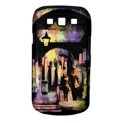 Street Colorful Abstract People Samsung Galaxy S Iii Classic Hardshell Case (pc+silicone)