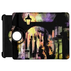 Street Colorful Abstract People Kindle Fire Hd 7