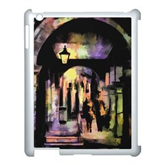 Street Colorful Abstract People Apple Ipad 3/4 Case (white)