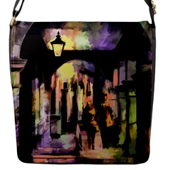 Street Colorful Abstract People Flap Messenger Bag (s)