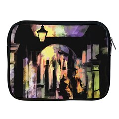 Street Colorful Abstract People Apple Ipad 2/3/4 Zipper Cases