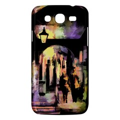 Street Colorful Abstract People Samsung Galaxy Mega 5 8 I9152 Hardshell Case