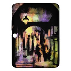 Street Colorful Abstract People Samsung Galaxy Tab 3 (10 1 ) P5200 Hardshell Case