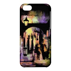 Street Colorful Abstract People Apple Iphone 5c Hardshell Case