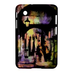 Street Colorful Abstract People Samsung Galaxy Tab 2 (7 ) P3100 Hardshell Case