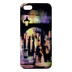 Street Colorful Abstract People Iphone 5s/ Se Premium Hardshell Case
