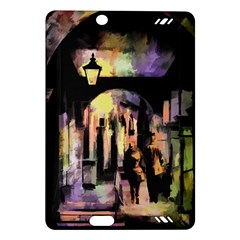 Street Colorful Abstract People Amazon Kindle Fire Hd (2013) Hardshell Case