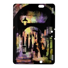 Street Colorful Abstract People Kindle Fire Hdx 8 9  Hardshell Case