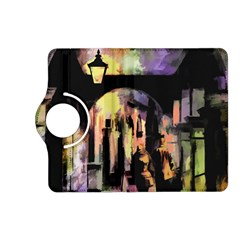 Street Colorful Abstract People Kindle Fire Hd (2013) Flip 360 Case