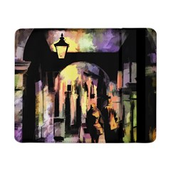Street Colorful Abstract People Samsung Galaxy Tab Pro 8 4  Flip Case