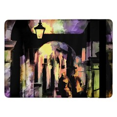 Street Colorful Abstract People Samsung Galaxy Tab Pro 12 2  Flip Case